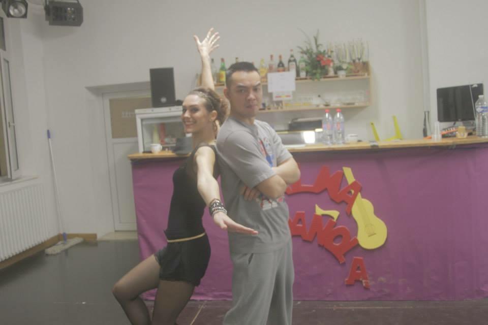 Module salsa con hiphop. Sith et Ophélie