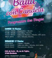 Programme Baila con Candela
