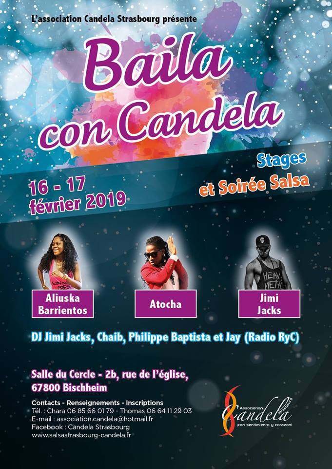 Aché y Candela Stage!