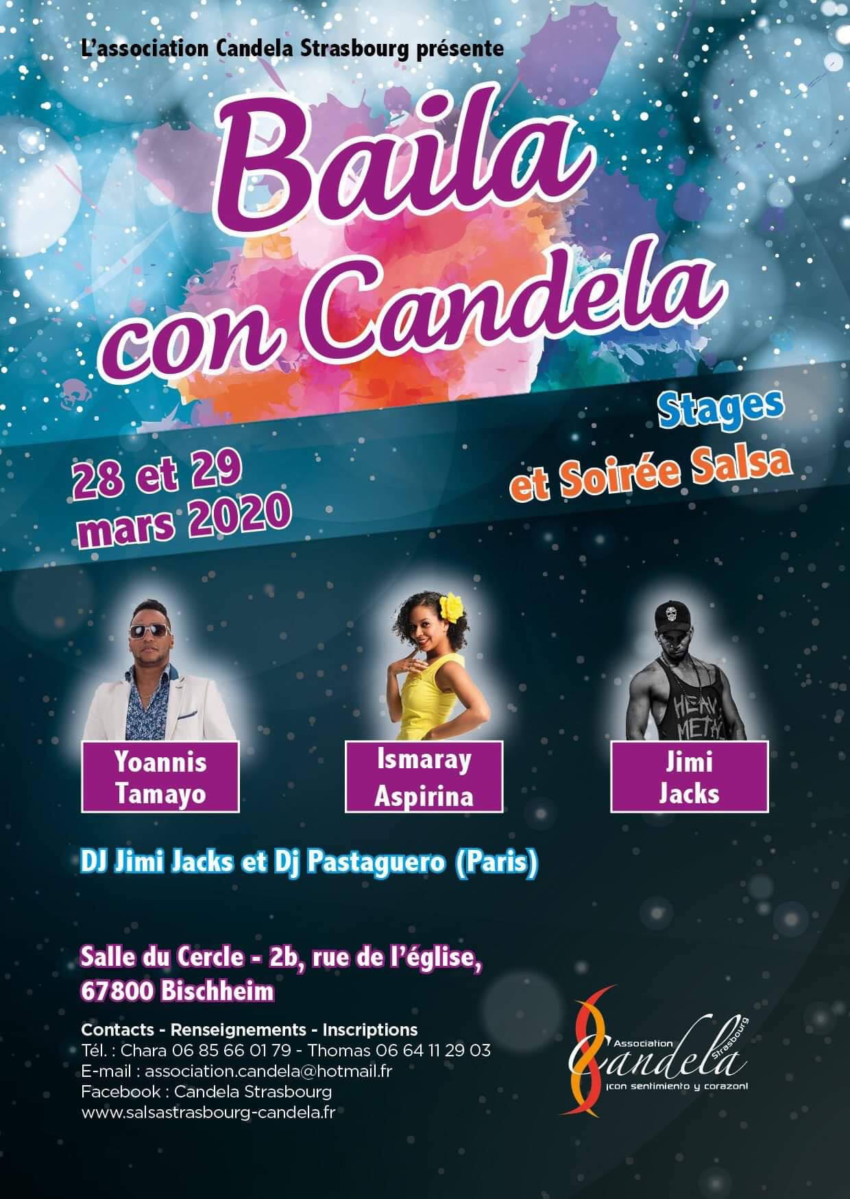 Stage. Baila con Candela II